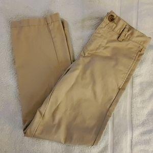 Boys Flat Front Uniform Pants